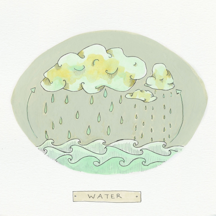 Water The Visual EnCYCLEpedia Illustration